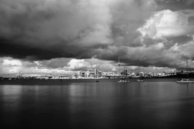 Theo Clearwater Clouds from Birkenhead Wharf